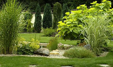 Tuin van de creatieve hovenier